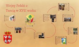 Wojny Polski z Turcją w XVII wieku