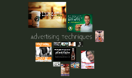 Copy of Advertising Techniques