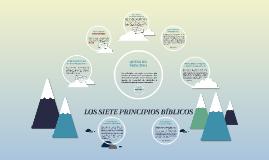 LOS SIETE PRINCIPIOS BÍBLICOS