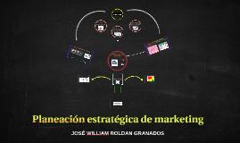 Planeación estratégica de marketing