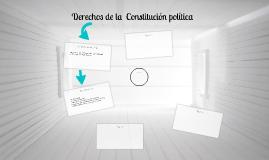 Derechos de la  Constitución política