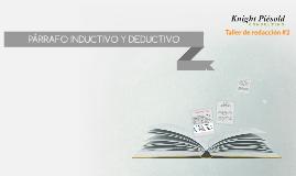 Copy of PÁRRAFO INDUCTIVO Y DEDUCTIVO