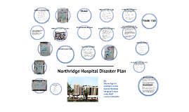 Northridge Hospital Disaster Plan