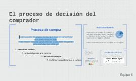 El proceso de decision del comprador
