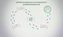 SISTEMA DE MEJORA DE CALIDAD EN FE Y ALEGRÍA REGIONAL SUR