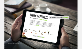 Copy of Paperless living