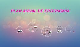 Copy of PLAN ANUAL DE ERGONOMIA