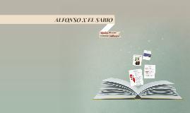 Copy of ALFONSO X EL SABIO