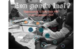 Bijeenkomst 2 BVE NT2 VU 16 en 18 januari 2018