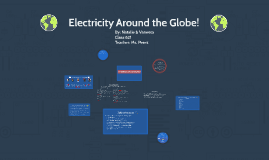 Electricity Around the Globe!