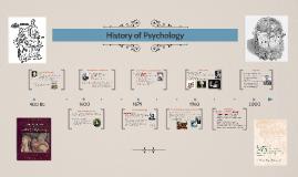 Unit 1: History of Psychology