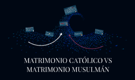 Copy of MATRIMONIO CATÓLICO VS MATRIMONIO MUSULMÁN