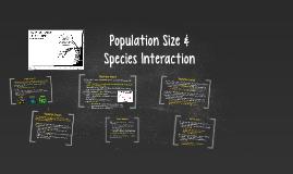 Population Size &