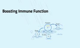 Boosting Immune Function