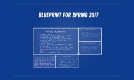 Blueprint for spring 2017