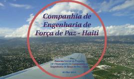 Companhia de Engenharia de Força de Paz - Haiti