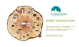Útiskóli í Þelamerkurskóla