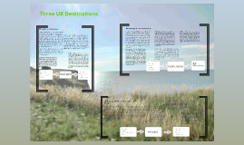Three UK destinations