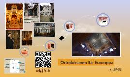 6 Ortodoksinen kirkko (8lk)
