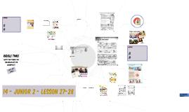 14 Junior 2 - Lesson 14