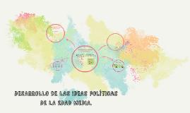 dESARROLLO DE LAS IDEAS POLITICAS DE LA EDAD MEDIA.
