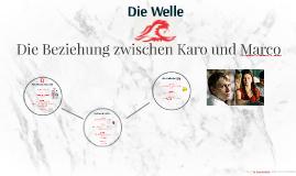 Die Beziehung zwischen Karo und Marco