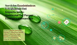 Servicios Ecosistémicos Y Evaluación Del Impacto Socio-Ambie