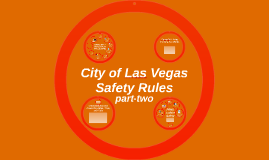 City of Las Vegas Safety Rules 2014-2015