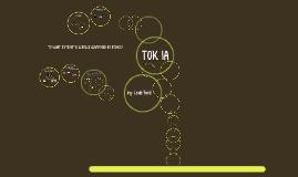 TOK IA 2