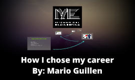 How I chose my career