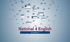 National 4 English