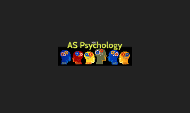 AS Psychology