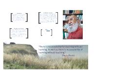 Paulo Freire - Critical Pedagogue