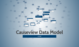 Causeview Data Model