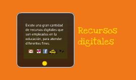 Copy of Recursos digitales