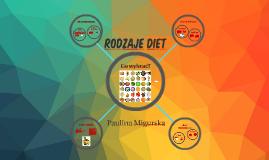 Rodzaje diet
