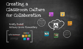 Copy of Creating a Classroom Culture for Collaboration