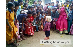 1 Getting to know you