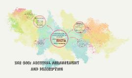 Copy of IMR 605: ARCHIVAL ARRANGEMENT AND DESCRIPTION