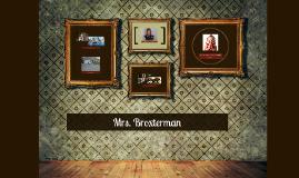 Mrs. Broxterman