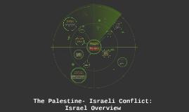 The Palestine- Israeli Conflict: