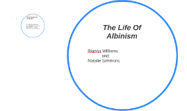 The Life Of Albinism