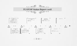 ECOLISE Status Report