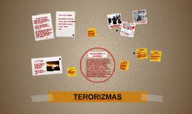 Kas yra terorizmas?