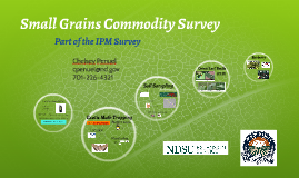 2018 Small Grains Commodity Survey