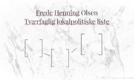 Frede Henning Olsen