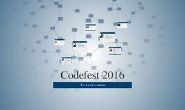 Codefest 2016