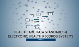 Copy of HEALTHCARE DATA STANDARDS