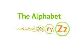 Copy of Copy of The Alphabet
