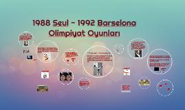 1988-1992 Yaz Olimpiyatları